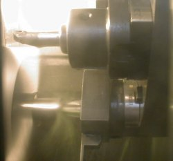 Turning on a CNC lathe